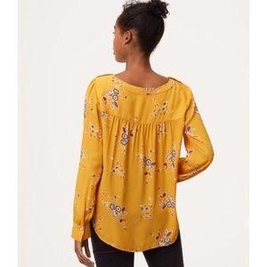 Loft marigold blouse M